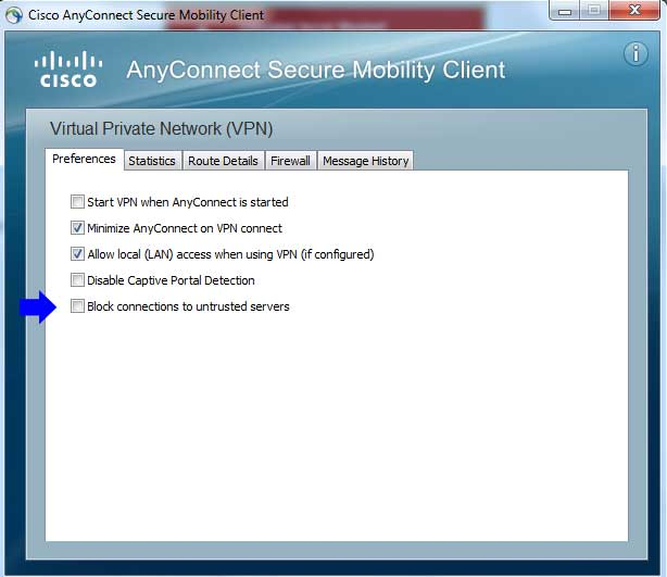 setup anyconnect - cisco vpn
